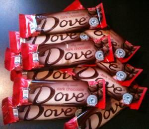 Eating large amounts of chocolate? No.